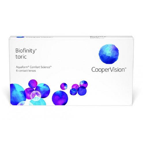 Купить Biofinity Toric (3 линзы)