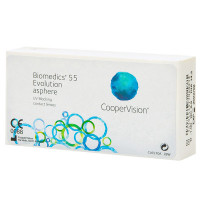 Biomedics 55 Evolution (6 линз)